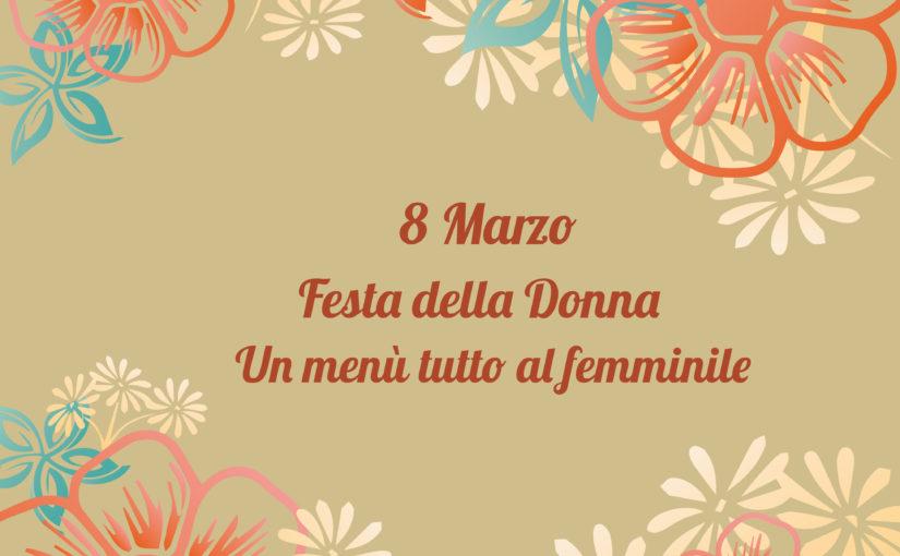 Menù Festa della Donna